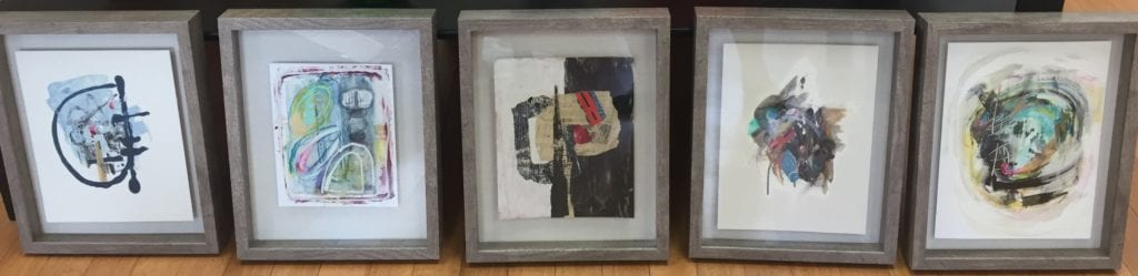 Mixed Media drawings, paintings & collage.